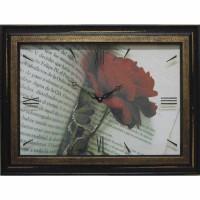 Часы картины Династия 04-034-12 Роза