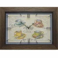 Часы картины Династия 04-039-05 Чашка кофе