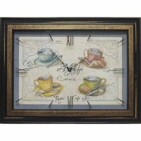 Часы картины Династия 04-039-12 Чашка кофе
