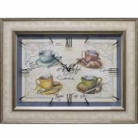 Часы картины Династия 04-039-15 Чашка кофе