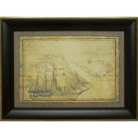 Картина для дома Династия 05-007-02 Морская экспедиция
