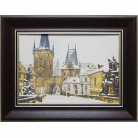 Картина для дома Династия 05-025-10 Зимняя Прага