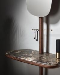 Консоль с зеркалом Nomon RECIBIDOR Marble