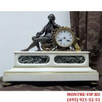 Старинные каминные часы Japy Freres, Buffon-1
