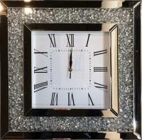 Настенные зеркальные часы Clock'In 4