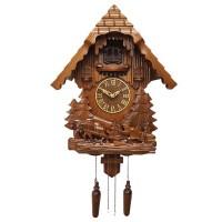 """Настенные часы с кукушкой Columbus CQ-020 """"Земледелец"""""""