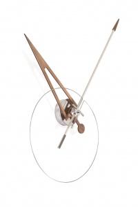 Часы Nomon CRIS WHITE/WALNUT,  d=70см