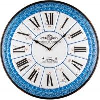 Настенные часы Lowell 21515 из металла