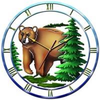 """Часы настенные Tiarella """"Медведь"""""""