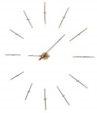 Часы Nomon  MERLIN 12 GOLD N 155 WALNUT/GOLD,  d=155см
