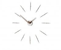 Часы Nomon MERLIN  MINI 12 CHROME WALNUT, 70CM