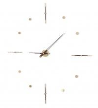 Часы Nomon Mixto Gold N 125, полированная латунь/венге, d=125cm.