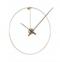 Часы Nomon New Anda Gold, gold/walnut, d=100 см