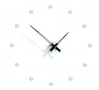 Часы Nomon Rodon 12 i BLACK, chrome, d=70 см
