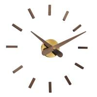 Настенные часы Nomon SUNSET GOLD WALNUT, d=50см