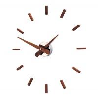 Настенные часы Nomon SUNSET WALNUT, d=50см