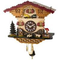 Кварцевые настенные часы с кукушкой и мелодией Trenkle 2058 PQ