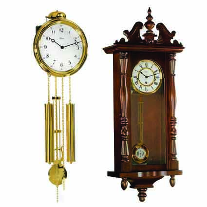 HERMLE (Германия) механические и кварцевые часы с маятником