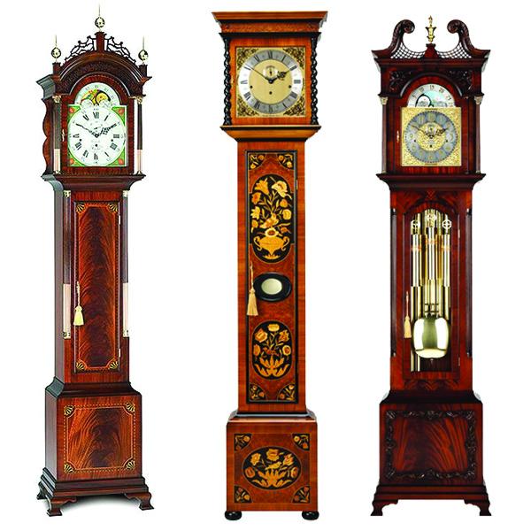 COMITTI (Англия) Механические напольные часы