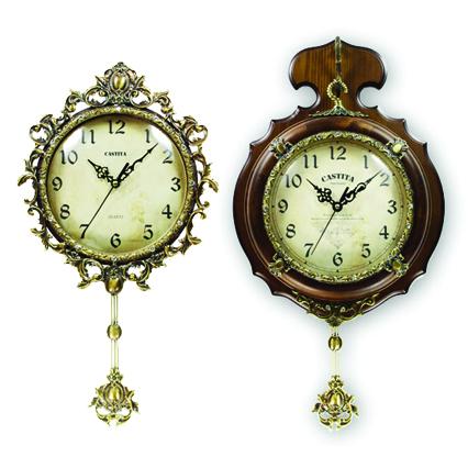 Castita (Ю. Корея) Кварцевые настенные часы с маятником
