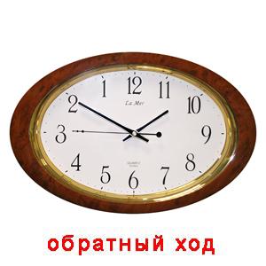 Настенные часы обратного хода