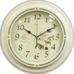 Белые настенные часы