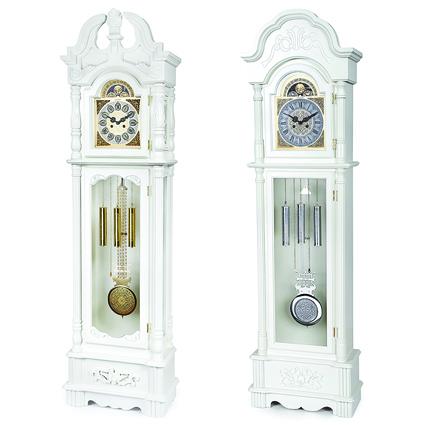 Белые напольные часы