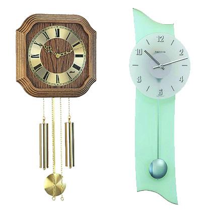Механические настенные часы с маятником
