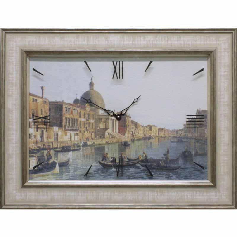 Часы-картины Династия (стрелки под стеклом)