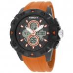 Оранжевые наручные часы