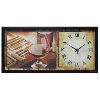 """Настенные часы из песка Династия 03-062 """"Бренди"""""""