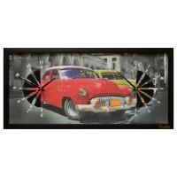 """Настенные часы из песка Династия 03-065 """"Ретро автомобили"""""""