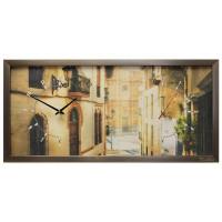 """Настенные часы из песка Династия 03-051 """"Старый город"""""""