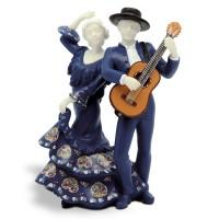 Статуэтка Nadal 763420 Pareja guitarra