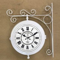 Настенные двусторонние часы GALAXY AYP-820 Ivory