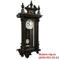 Старинные настенные часы с боем Gustav Becker-3