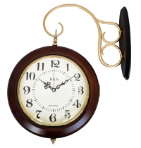 Часы настенные двухсторонние B&S YN 602B