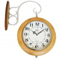 Часы настенные двухсторонние B&S YN 602W