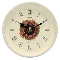 Часы настенные для дома и офиса Sinix 1057W