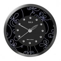 Настольные часы B&S SHC-105CQG(BL)