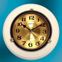 Часы настенные для дома и офиса Sinix 1018GA-White