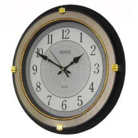 Большие настенные часы Sinix 4041CMB