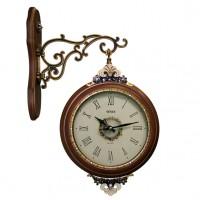 Часы настенные двусторонние Sinix 8003