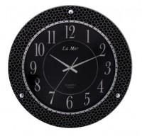 Настенные часы из стекла La Mer GD274-2