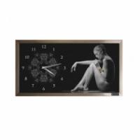 """Настенные часы Династия 03-067 """"Страсть"""""""