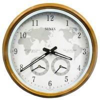 Настенные часы Sinix-5085 OAK