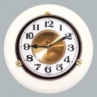 Часы настенные для дома и офиса Sinix 1018CMA-White
