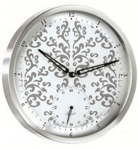 Настенные часы из металла Hermle 30891-002100