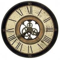 Настенные часы из металла Howard Miller 625-542 Brass Works