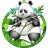 "Часы настенные Tiarella ""Панда"""